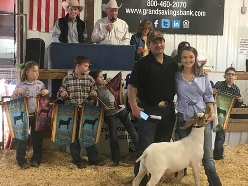 The Delaware County Spring Livestock Show