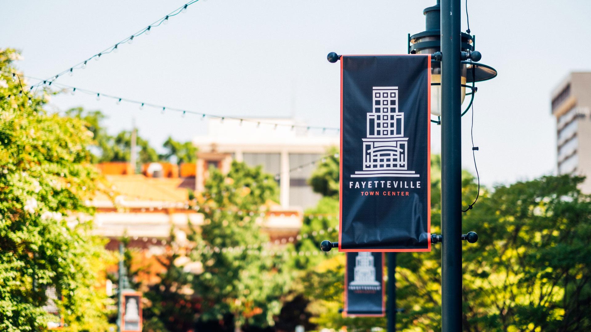 Fayetteville, AR banner
