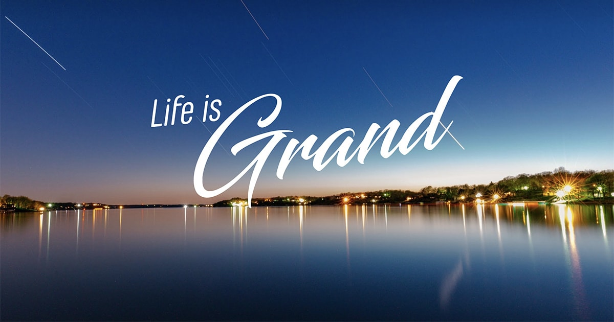 Life is Grand social post image